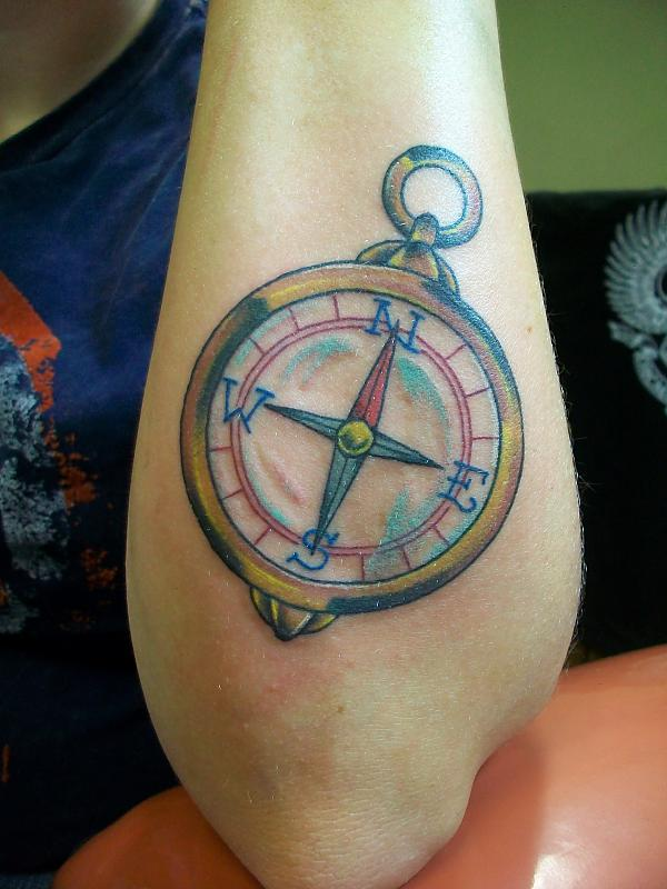 compass tattoo 14
