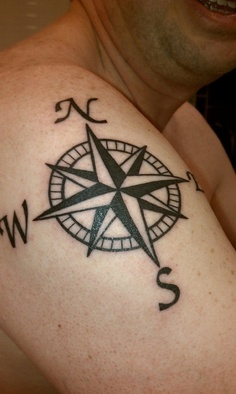 compass tattoo 66