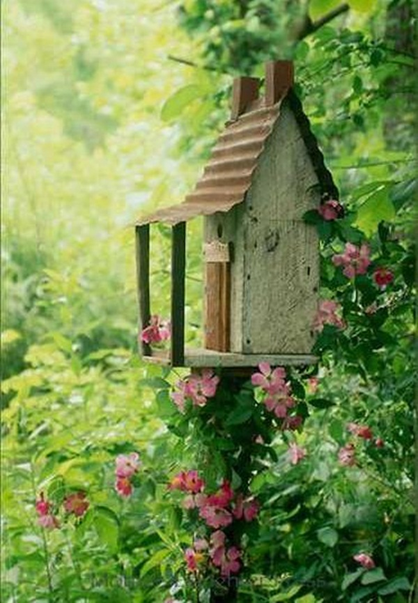 Beautiful Birdhouse Design and Ideas 10