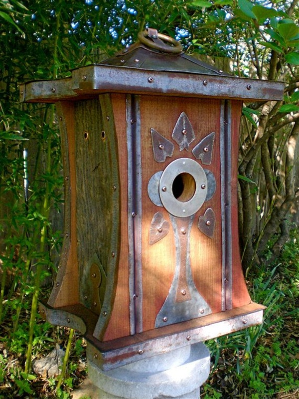 Beautiful Birdhouse Design and Ideas 11