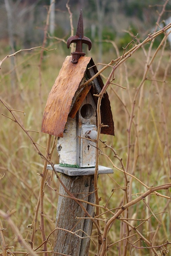 Beautiful Birdhouse Design and Ideas 12