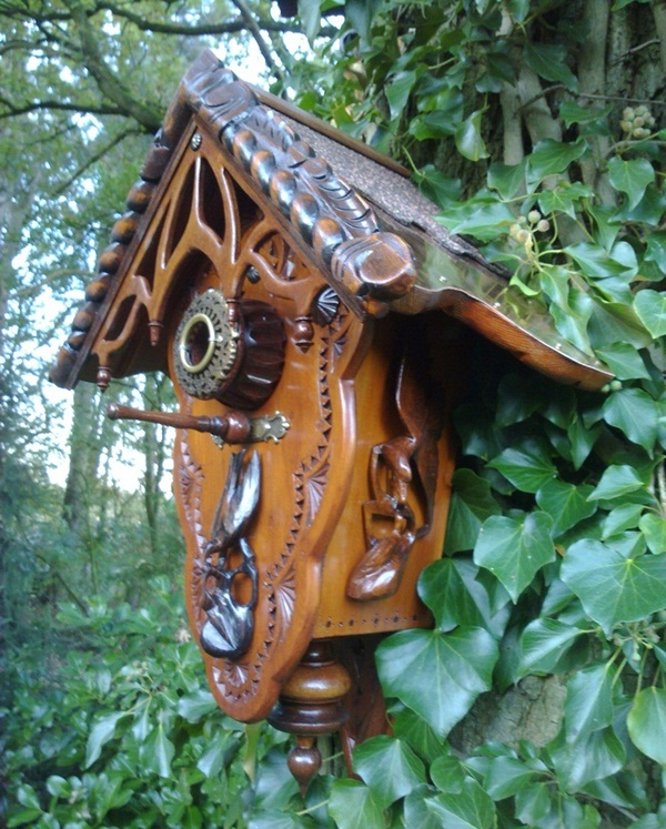 Beautiful Birdhouse Design and Ideas 13