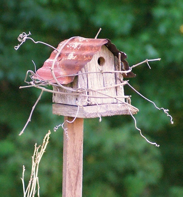 Beautiful Birdhouse Design and Ideas 14