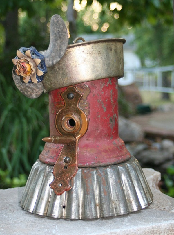 Beautiful Birdhouse Design and Ideas 15