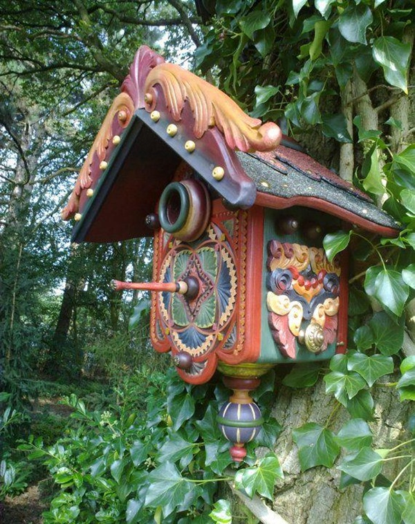 Beautiful Birdhouse Design and Ideas 21