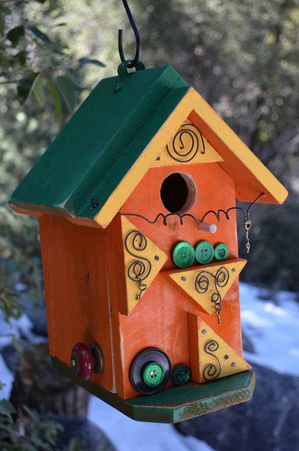 Birdhouse Design Ideas image of bird house decoration Beautiful Birdhouse Design And Ideas 22