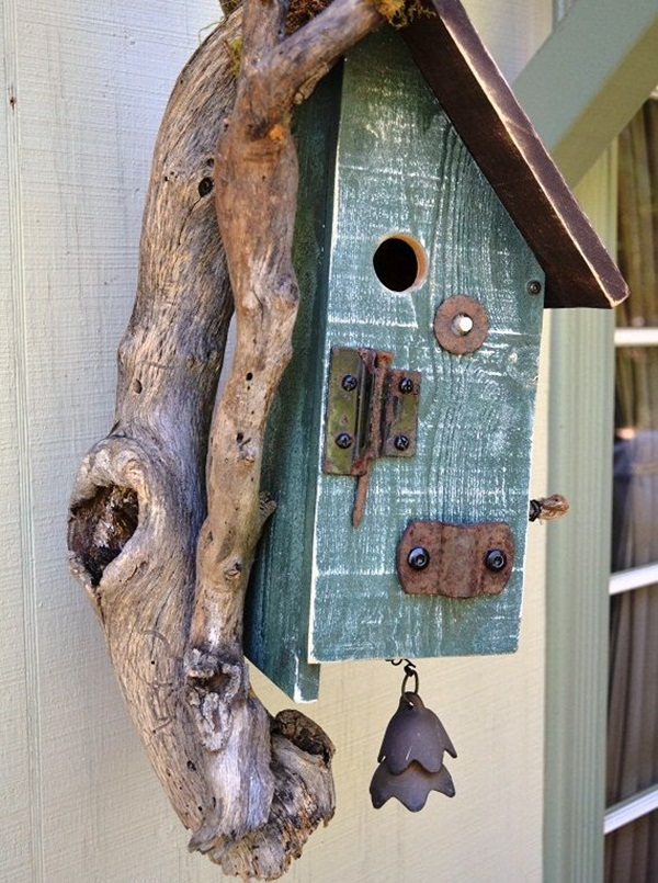 Beautiful Birdhouse Design and Ideas 27