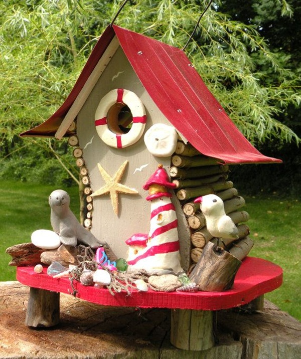 Beautiful Birdhouse Design and Ideas 28