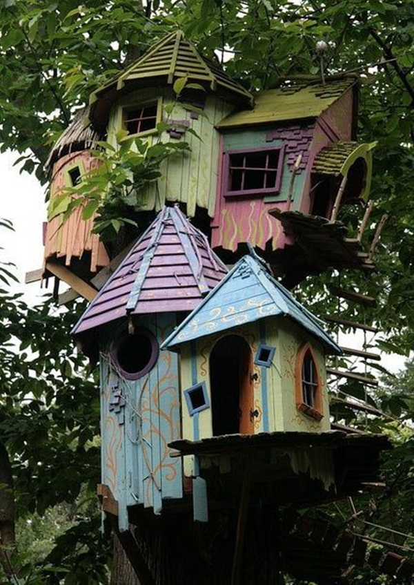 Beautiful Birdhouse Design and Ideas 7