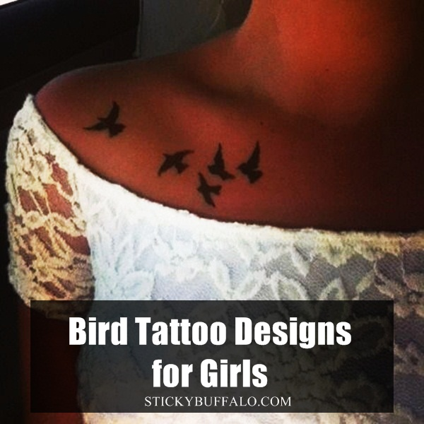 Bird Tattoo Designs for Girls1.1