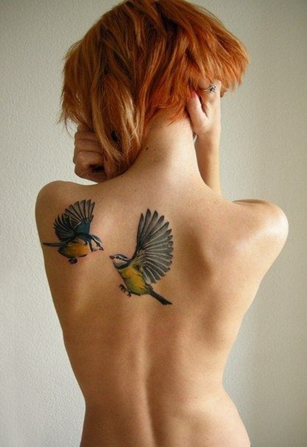 Bird Tattoo Designs for Girls2