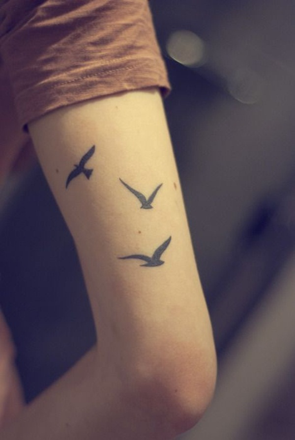Bird Tattoo Designs for Girls20