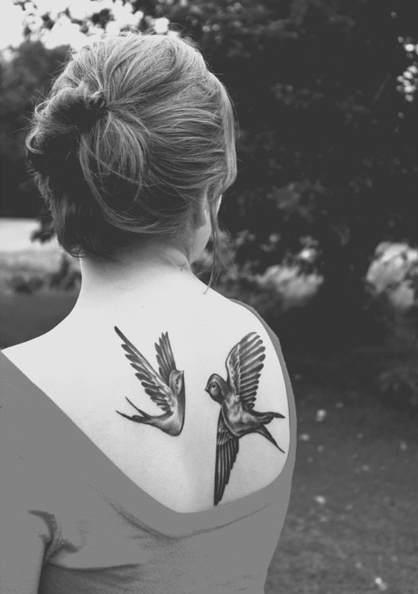 Bird Tattoo Designs for Girls8
