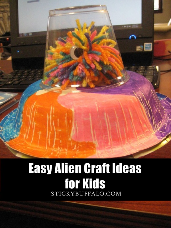 Easy Alien Craft Ideas for Kids1.1