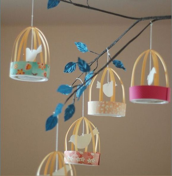 Creative paper craft ideas 30 picked Home decor crafts with paper