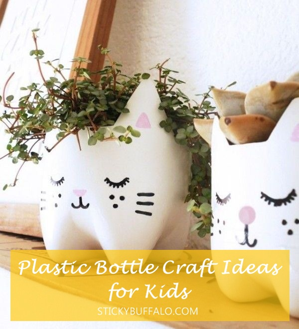 25+ Plastic Bottle Craft Ideas for Kids