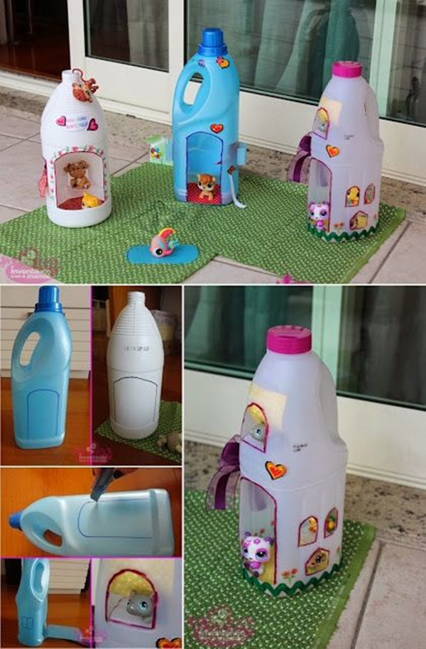 Plastic Bottle Craft Ideas for Kids24