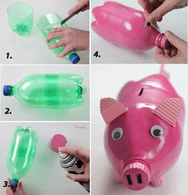 Plastic Bottle Craft Ideas for Kids8