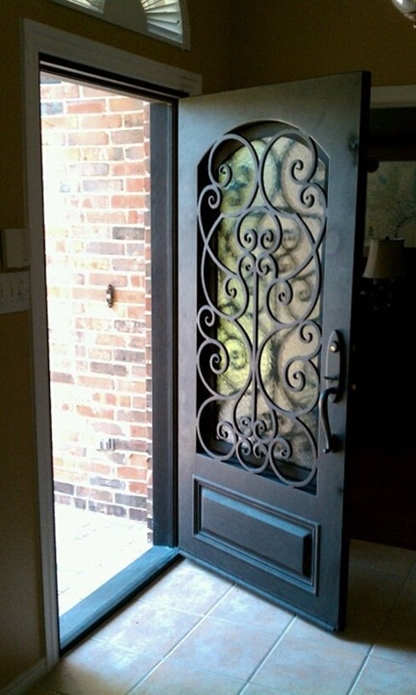 25 front gate designs welcome your guest with perfect for Door design of iron