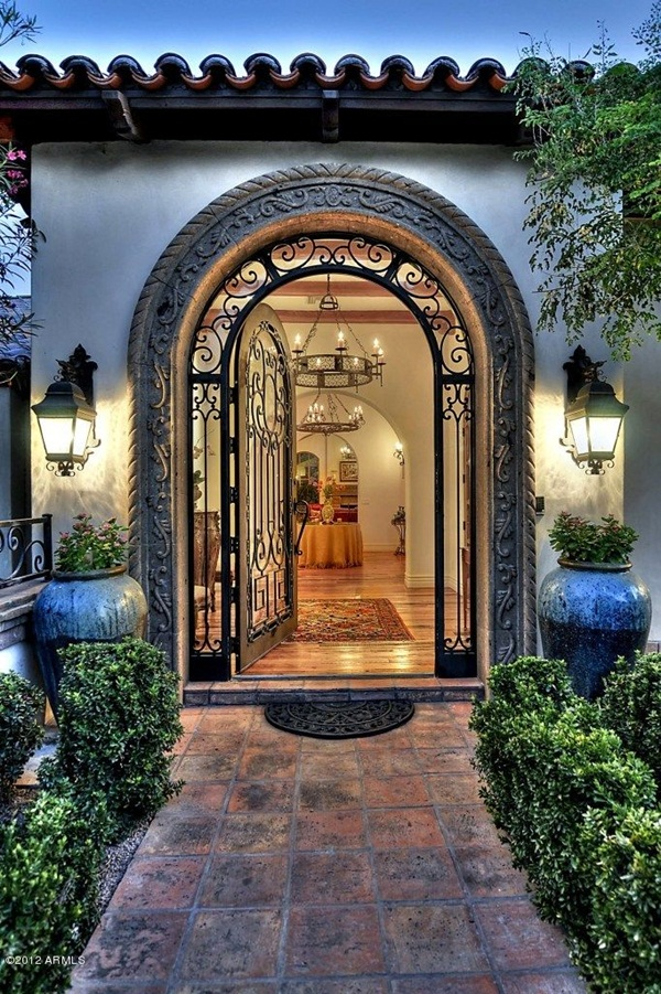 25 front gate designs welcome your guest with perfect for Front entrance home designs