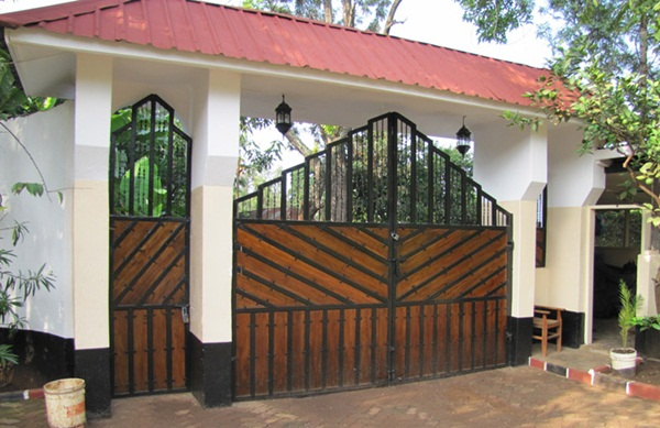 Window front gates had gained popularity these days  These gates are simple  gates that have windows slightly above the middle to view the person who is. 25 Front Gate Designs  Welcome your Guest with Perfect Gate Design