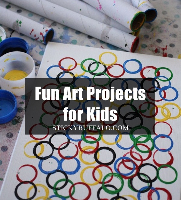 30 Innovative Fun Art Projects For Kids