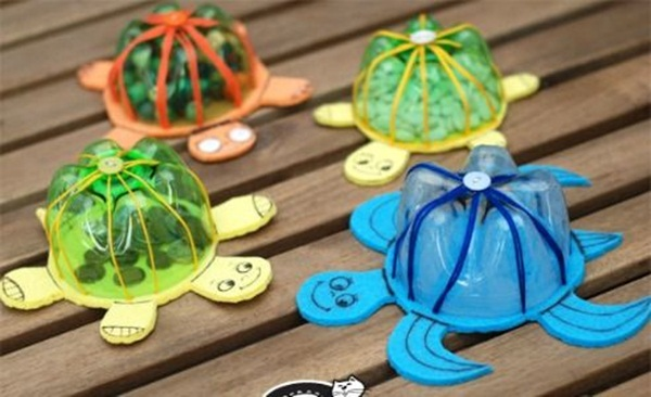 25 plastic bottle craft ideas for kids for Best out of waste ideas for class 7